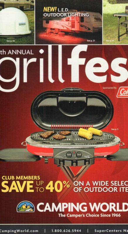 Camping World Catalog Blow In