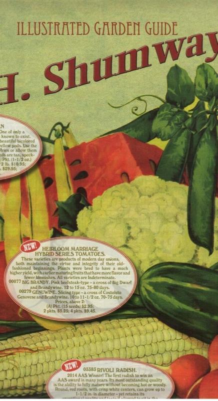Shumway Seed Catalogue