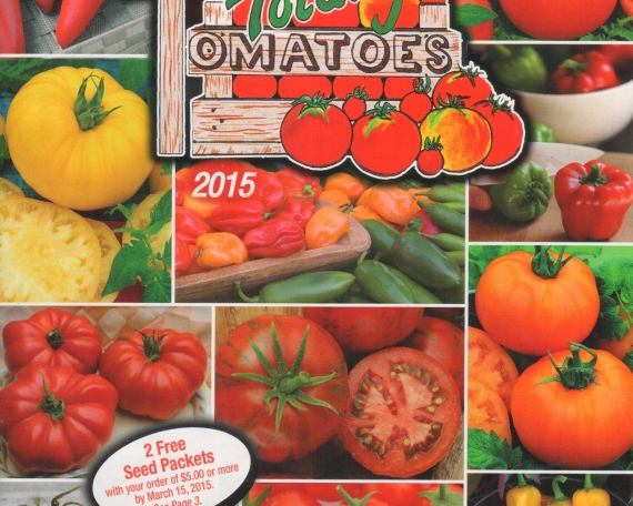 Totally Tomato Catalog Blow In
