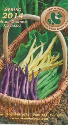 Vermont Bean Seed Catalog